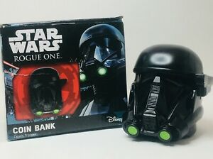 Star-Wars-Rogue-One-DEATH-TROOPER-COIN-BANK-4-Inch-Tall-Coin-Bank