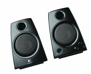 1c0cbb97d7d Image is loading Logitech-3-5mm-Jack-Compact-Laptop-Speakers-Black-