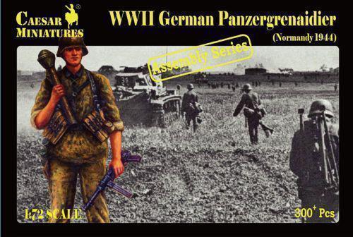 Caesar-Miniatures-1-72-la-Segunda-Guerra-Mundial-Aleman-Panzergrenadiers-Normandia-7216