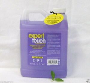 Opi Expert Touch Gel Polish Remover 32oz Nail Wipes 200ct Combo