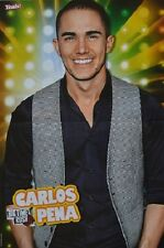 CARLOS PENA - A3 Poster (ca. 42 x 28 cm) - Big Time Rush Clippings Fan Sammlung