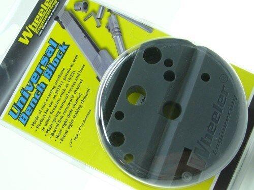 Wheeler 672215 Universal Bench Block Firearm Assembly For Gunsmith Fits M1911