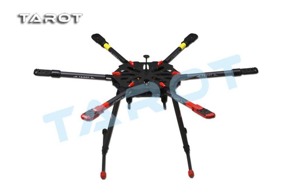 Tared X6 klappbarer Carbon Hexacopter Rahmen - elektrisches Landegestell TL6X001