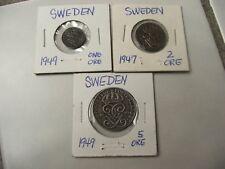 Sweden 5 Ore, 1949
