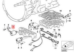 s l300 genuine bmw e36 e39 e46 at pressure regulator solenoid valve oem bmw e46 transmission diagram at gsmx.co