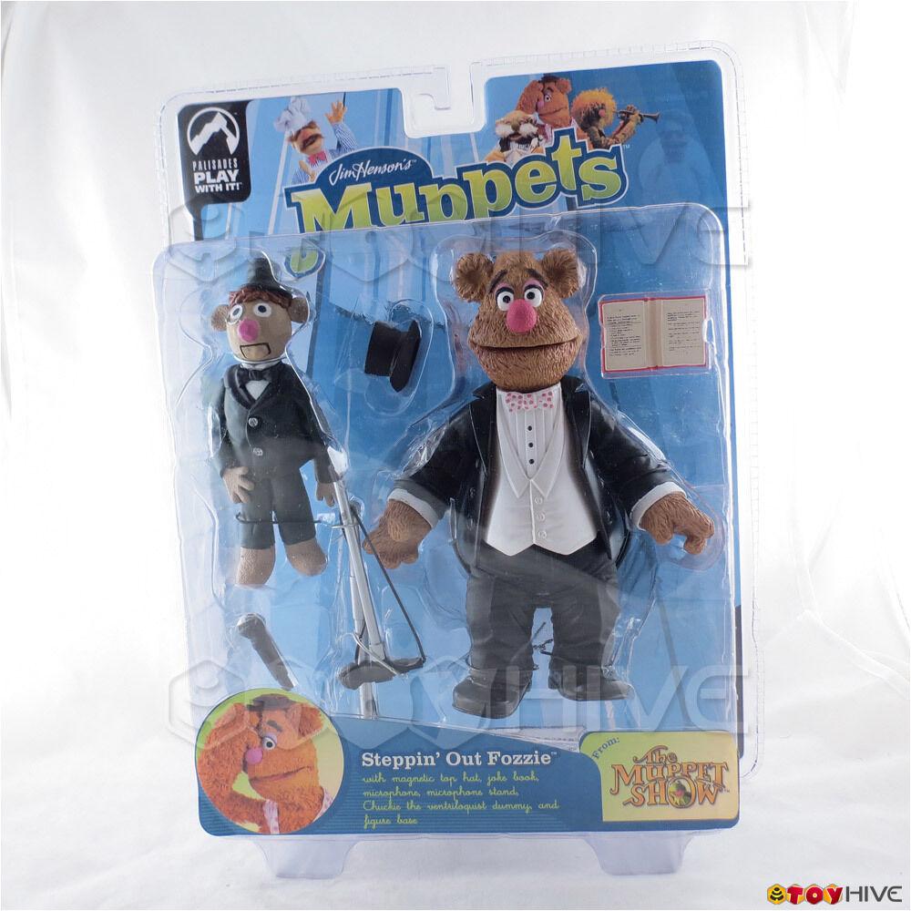 Muppet Show Palisades Steppin Out Tuxedo Fozzie Bear series 9 Muppets figure