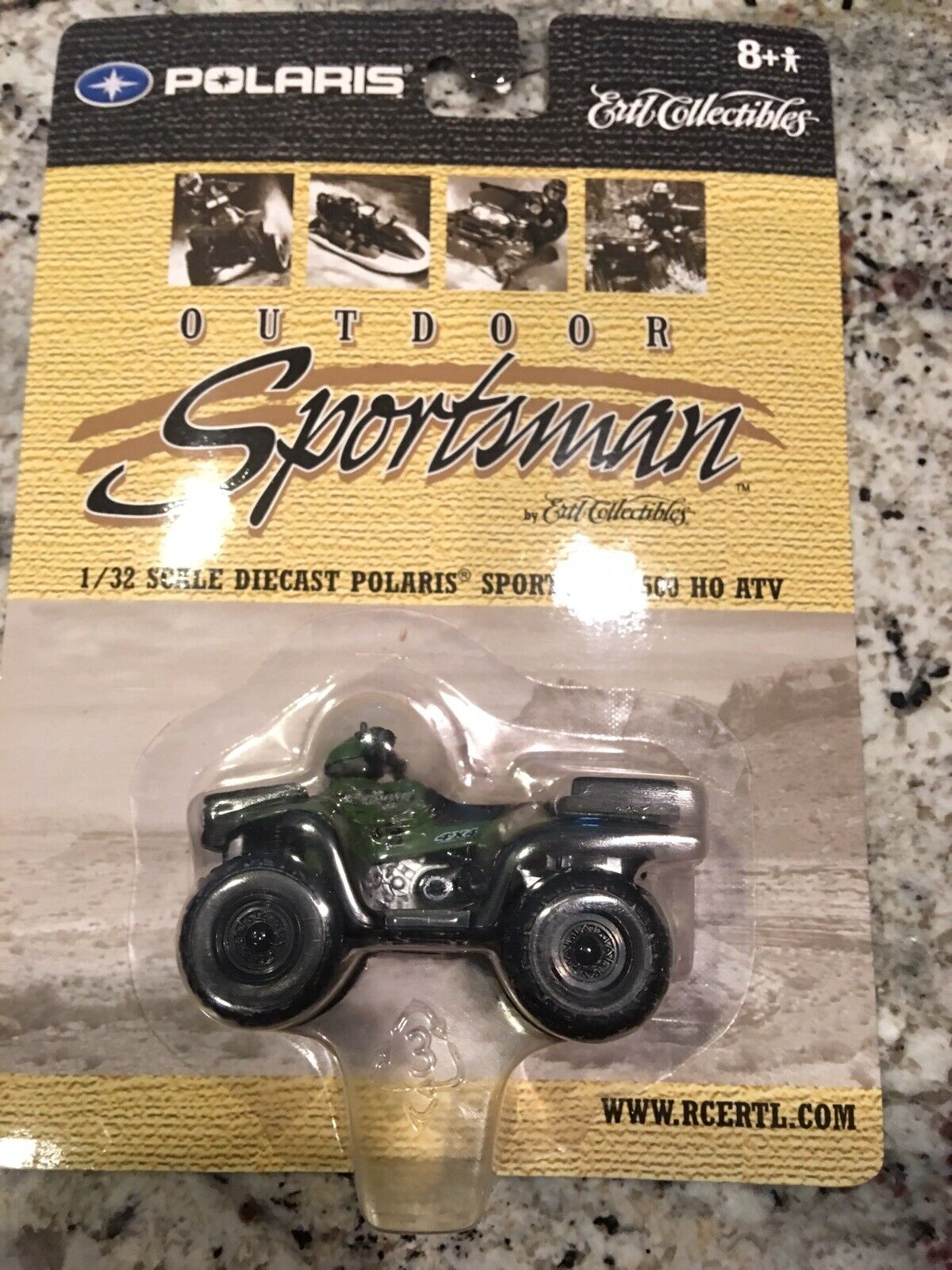 Ertl 1 18 Polaris Scrambler 500 Atv For Sale Online Ebay