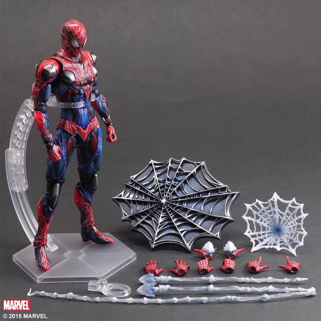 Spider Man Play Arts Kai PA Action Figure Model Doll Toy Statue Collection Gift