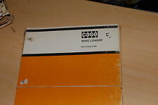 Case W24c Front End Wheel Loader Spare Parts Manual Book Catalog Rubber Tire