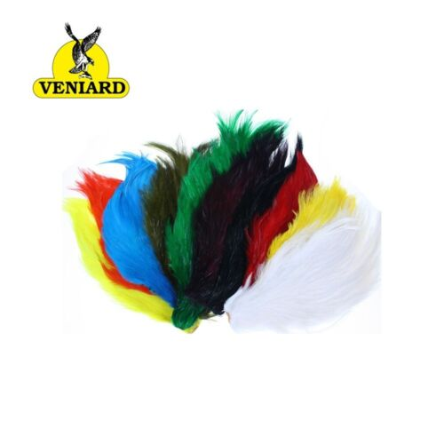 Veniards Chinese Cock Neck Capes Dyed ***2017 STOCKS*************