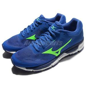 Mizuno-Synchro-MX-2-Blue-Green-Navy-Men-Running-Shoes-Sneakers-J1GE1719-41