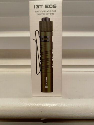 Olight i3T EOS 180 lumen AAA battery powered LED torch Green