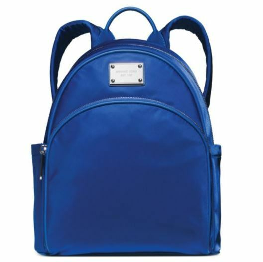 ca4654adfa75 NWT Authentic MICHAEL Michael Kors Small Nylon Backpack 30F4STTB5C Electric  Blue
