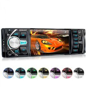 AUTORADIO-MIT-BILDSCHIRM-DISPLAY-VIDEO-MONITOR-BLUETOOTH-FREISPRECH-USB-SD-1DIN