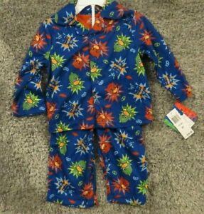 NEW-PJ-Masks-Toddler-Boys-2-Piece-Blue-Pajamas-Set-2T-Sleep-Outfit-NWT