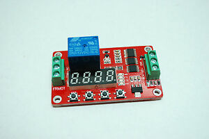 12V Relay Cycle Timer Module PLC Home Automation Delay Multifunction L2KD