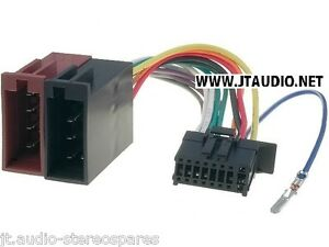Pioneer-Mvh-180ui-Car-Radio-Stereo-Latest-Spec-16-Pin-Wiring-Harness-Loom-Iso