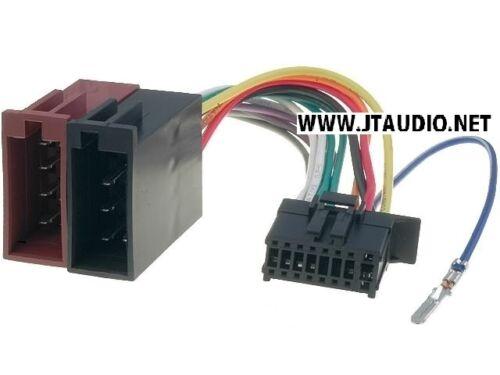 Pioneer Car Radio estéreo Más reciente Spec 16 Pin arnés de cableado Telar ISO MVH-S410BY
