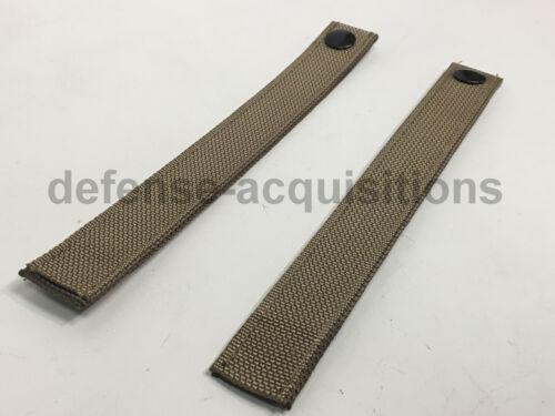 Tactical Pouch Pack kaki environ 21.59 cm Lot de 2 Militaire Molle Remplacement Sangles 8.5 in