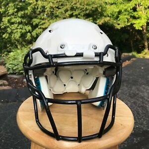 SCHUTT-Vengeance-Hybrid-Plus-Youth-Football-Helmet-White-Medium-RECERTIFIED-2019