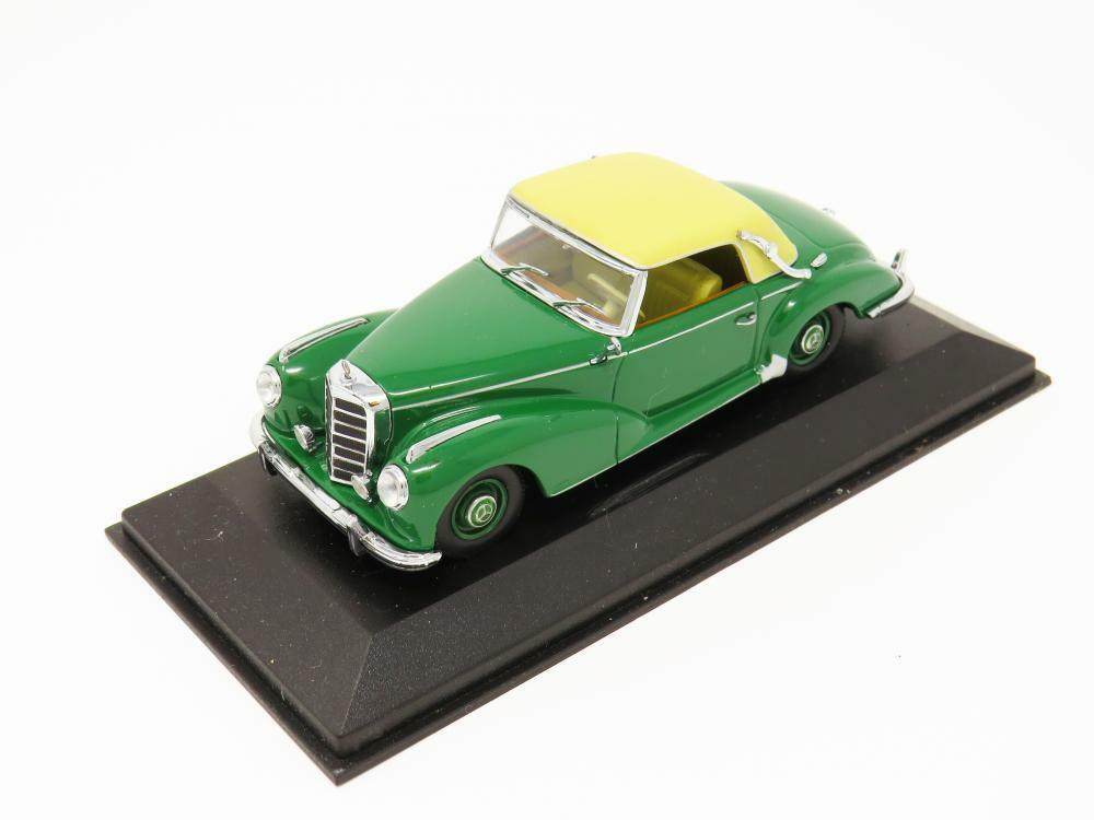 Minichamps Diecast 032340 Mercedes Benz 300 S Cabriolet Green 1 43 Scale Boxed