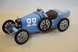 Cmc Cmcb-004 - Projet de couleur Bugatti T35 Nation France 1/18