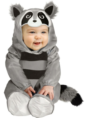 Infant/'s Toddler/'s Baby Plush Raccoon Costume Toddler 12-24m
