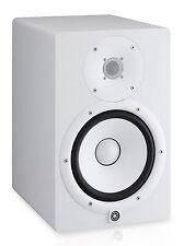 "Yamaha HS8 W Powered Studio 8"" Monitor Amplified Speaker - WHITE - OPEN BOX"