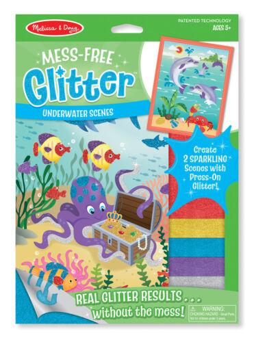 Kratzbilder Glitter Sticker von Melissa /& Doug neu/&ovp Scratch Art