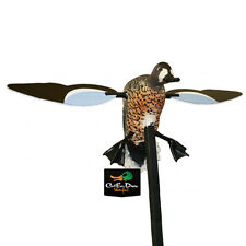 MOJO BLUE WING WINGED TEAL SPINNING MOTORIZED ROBO DUCK DECOY W/MAGNETIC WINGS