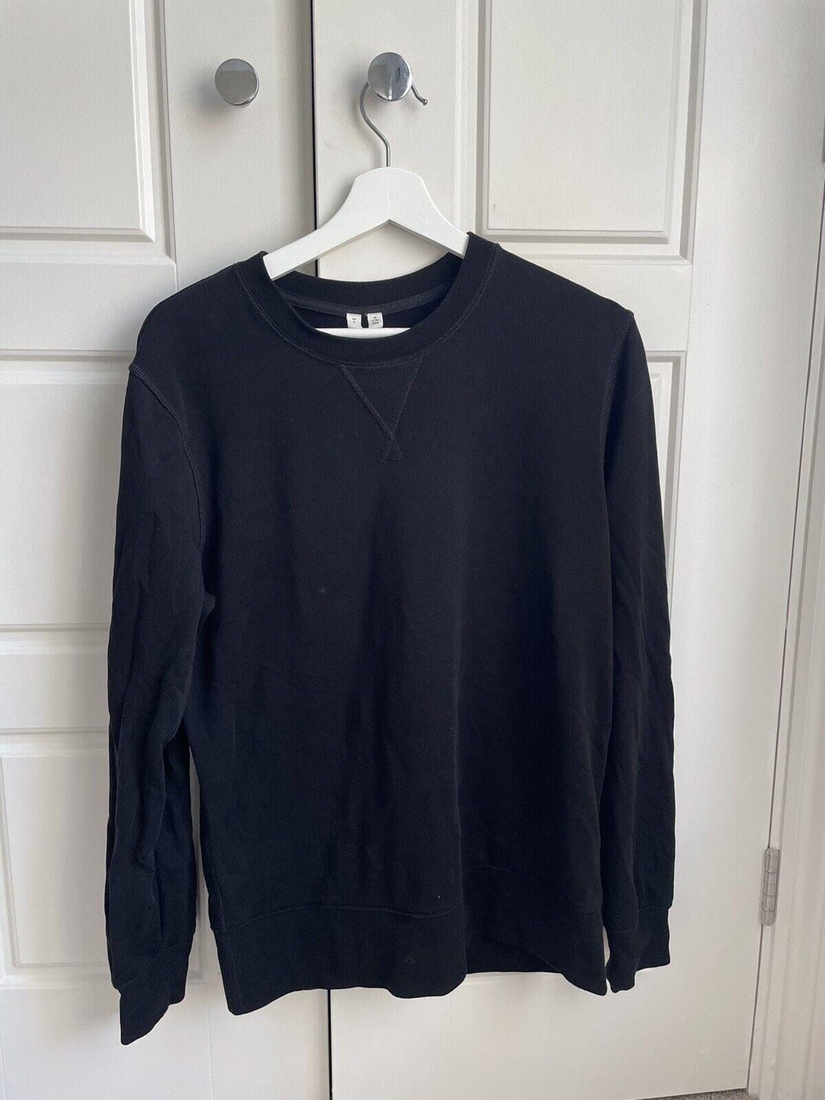 Arket - Black Swearshirt Size Small