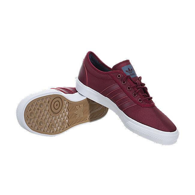 Adidas Men's Premier Adi-Ease Skateboarding Shoe; Burgundy / White; Men SIZE 10