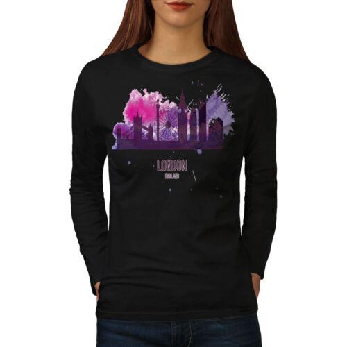Tourism Casual Design Wellcoda London View Womens Long Sleeve T-shirt