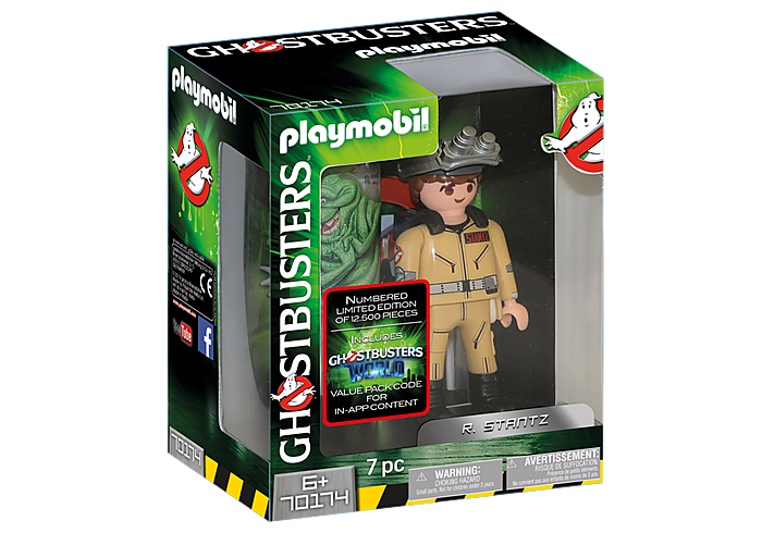 Playmobil 70173 Ghostbusters collection Egon Spengler Figure Comme neuf in box Neuf