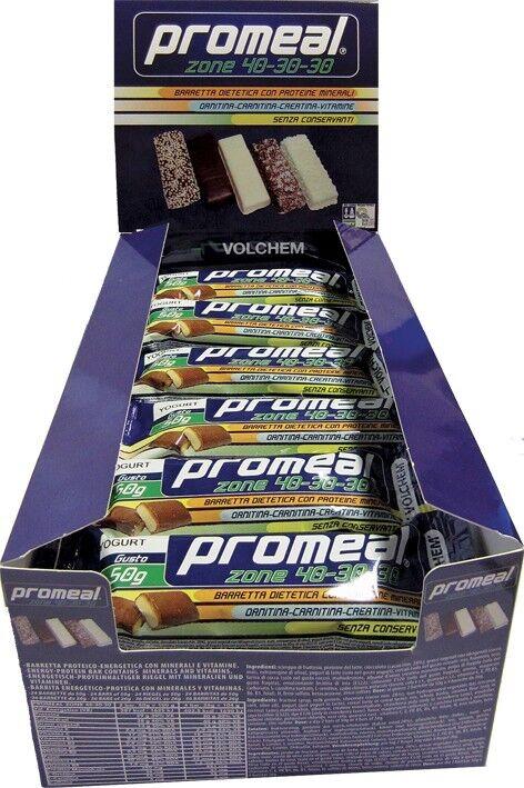 Volchem - PROMEAL ZONE 40-30-30 - 24x50g gusto Tiramisu