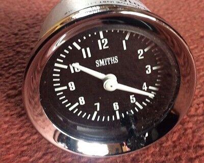 NEW SMITHS TIME CLOCK  52mm DIA CLASSIC CAR , Kit Car , MG , SCIMITAR