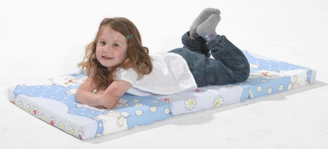 Bambini klappbare Reisebettmatratze Reisematratze 120x60 cm Star grau