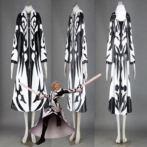 Hot Kingdom Hearts 2 Organization Xiii Xemnas Coat Cosplay Costume