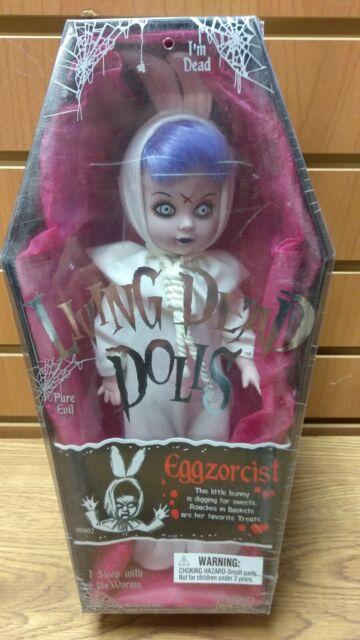 Mezco Living Dead Dolls Eggzorcist White Bunny Variant NEW SEALED