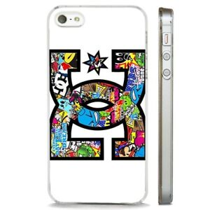 quality design 7d8ac 6de3f Details about Skateboarding Stickers Cool Collage CLEAR PHONE CASE COVER  fits iPHONE 5 6 7 8 X