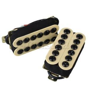 high output humbucker ceramic magnet electric guitar neck bridge pickup set ebay. Black Bedroom Furniture Sets. Home Design Ideas
