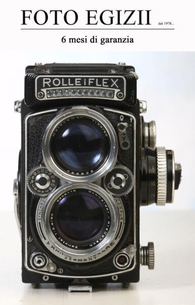2019 DernièRe Conception Rolleiflex Schneider Xenotar 80mm F/ 2.8 K7 E Del 1959 Usato Garantito 6 Mesi