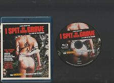I Spit On Your Grave SIGNED by CAMILLE KEATON BLU Original 1978 Director's Cut