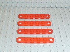 LEGO® Technic 4x Platte Plate 4262 rot 1x6 8032 8854 8812 8808 8842 Gelenk T06