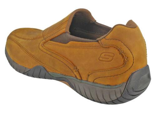 In Skechers Bascom Foam Memory Infilare Pelle Sportive Sendro Da Uomo Scarpe xHpHqw467