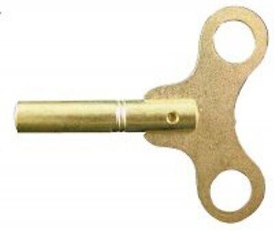 SWISS SIZE BRASS SINGLE END KEY 29581 CLOCK KEY #3 3.00 MM