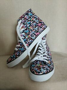 Lisa Frank High Top Shoes Converse Sneakers Women S Size 10 New Unicorn Rainbow Ebay