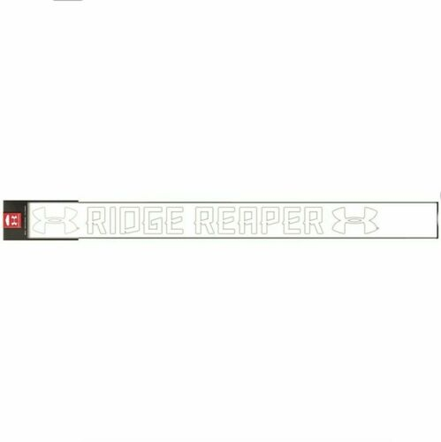 """32.5/"""" Window or Windshield Under Armor White Ridge Reaper Decal Fast Ship"""