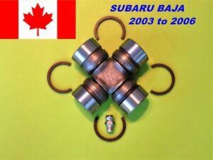 2003-2006 SUBARU  BAJA   UJOINT DRIVESHAFT UNIVERSAL U-JOINT  NEW S 2 U JOINT