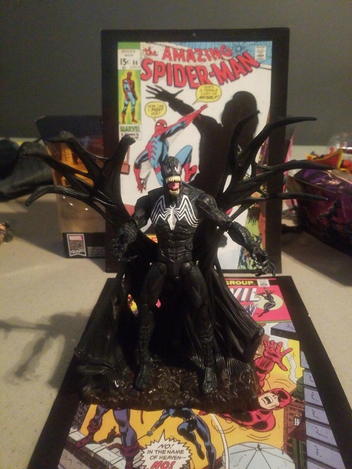 Spider-Man 3 UNLEASHED 360 VENOM Marvel 9  figure Rare HTF